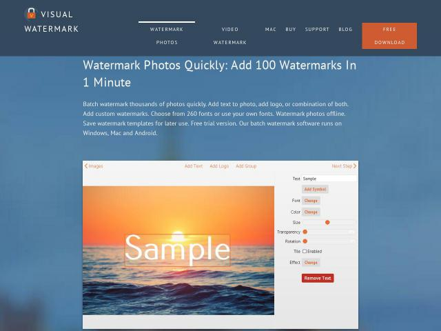 Visual Watermark